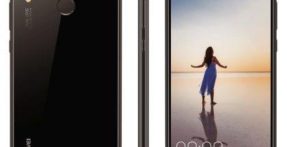 Huawei P20 -puhelimet mustana värinä. Evan Blassin aiemmin vuotama kuva.