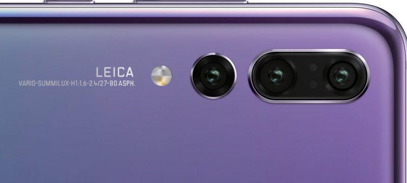 Huawei P20 Pro tulee sisältämään kolme takakameraa.