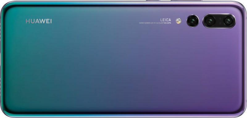 Huawei P20 Pron yksi värivaihtoehto.