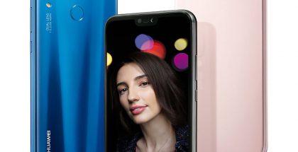 Huawei P20 Lite tulee Euroopassa myyntiin kolmena värivaihtoehtona.
