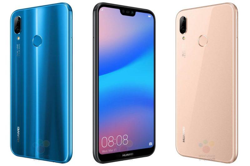 Huawei P20 Lite WinFuture.den julkaisemissa kuvissa.