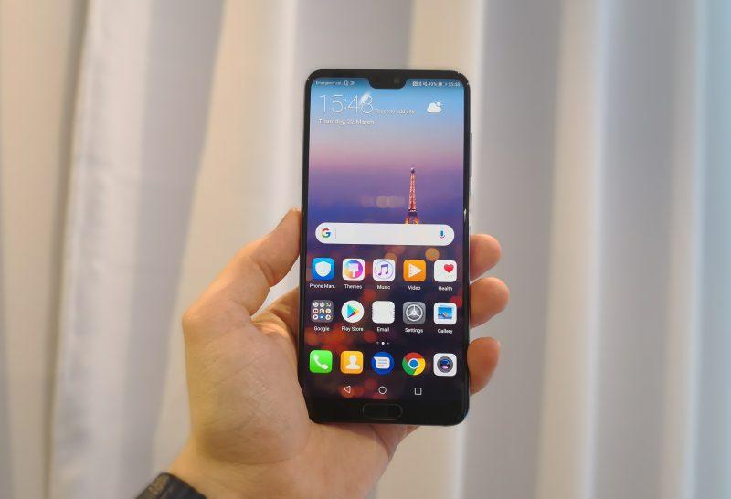 Huawei P20 Prossa on 6,1 tuuman näyttö.