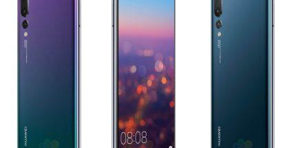 Huawei P20 Pro WinFuture.den aiemmin julkaisemissa kuvissa.