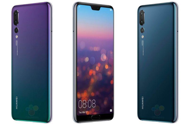 Huawei P20 Pro WinFuture.den julkaisemissa kuvissa.