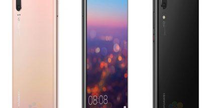 Huawei P20 WinFuture.den aiemmin julkaisemissa kuvissa.