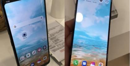 LG esitteli MWC:ssä salaisesti näyttölovella varustettua puhelinta, joka tiettävästi on peruttu uuden mallin tieltä. Kuvat: Ynet.