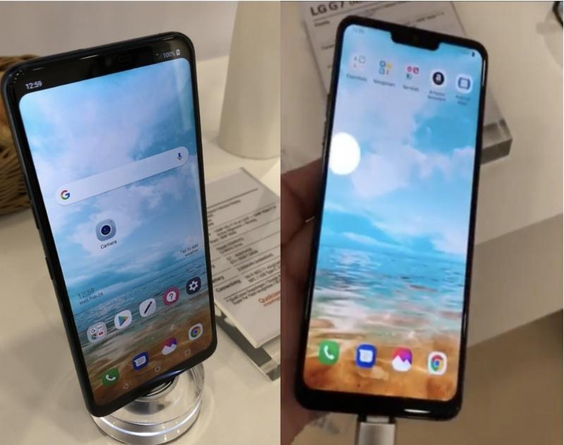LG esitteli MWC:ssä salaisesti näyttölovella varustettua puhelinta. Kuvat: Ynet.