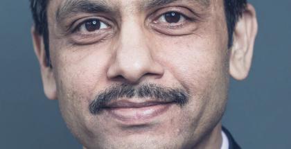 Nokian Global Services -liiketoimintaryhmän uusi johtaja Sanjay Goel.