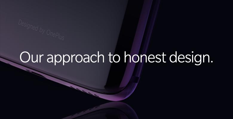 OnePlussan julkaisema kuva vilauttaa OnePlus 6:n lasista takapintaa ja uutta väriä.
