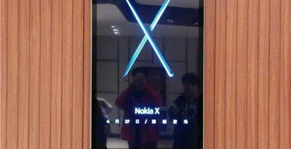 Nokia X -mainoksia on nähty Kiinassa parin viikon ajan.