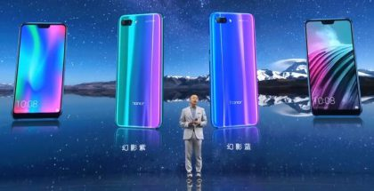 Honor 10 julkistettiin Kiinassa.