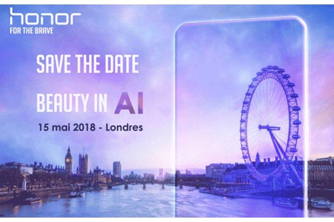 Honorin kutsu tilaisuuteen Lontoossa.