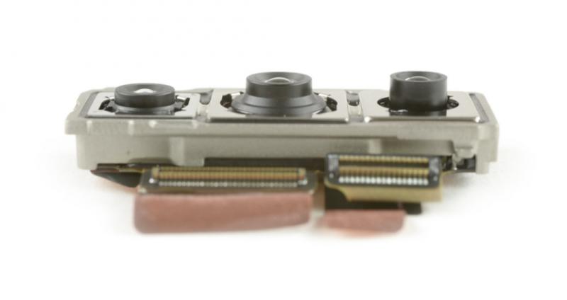 P20 Pron kamerajärjestelmästä paljastui yllätys. Kuva: iFixit.
