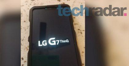 LG G7 ThinQ TechRadarin julkaisemassa kuvassa.