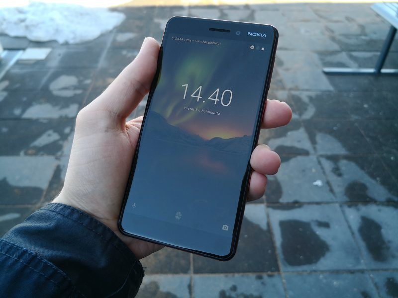 Nokia 6:n kookas 5,5 tuuman näyttö on perushyvä.