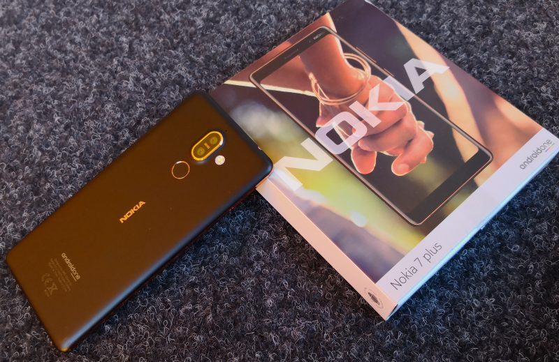 Nokia 7 Plus on lisäys keskihintaisten Nokia-älypuhelinten valikoimaan.