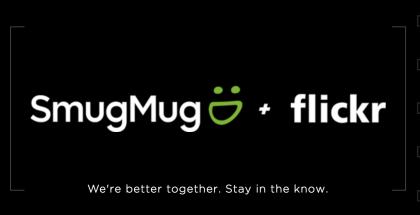 SmugMug + Flickr.