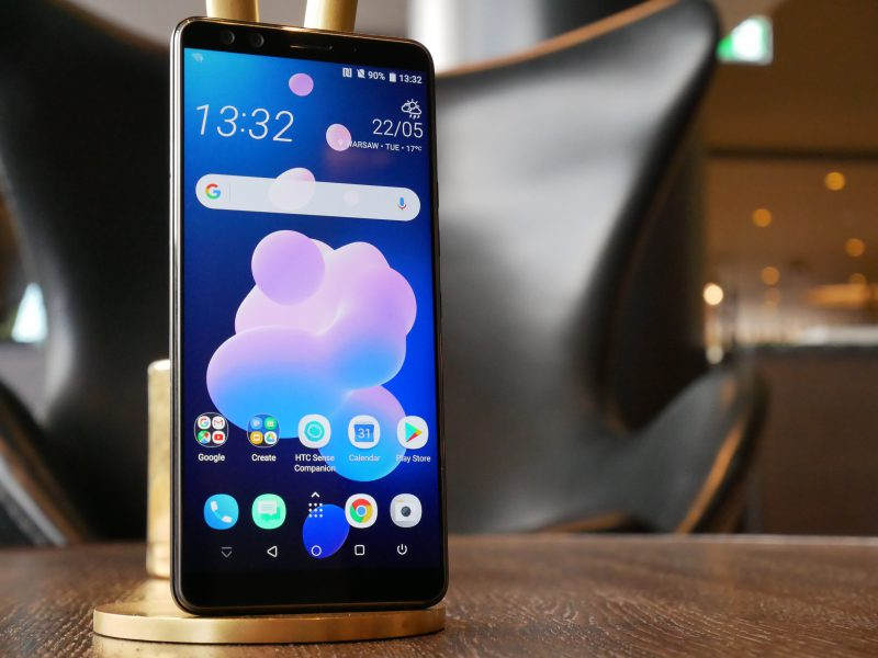 HTC:n uusin huippupuhelinmalli U12+.