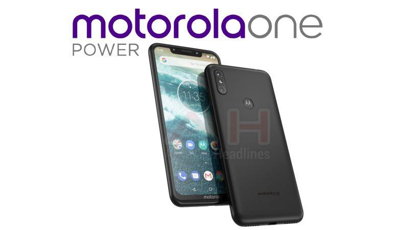 Aiemmin julkaistu vuotokuva Motorola One Powerista. Kuva: AndroidHeadlines.