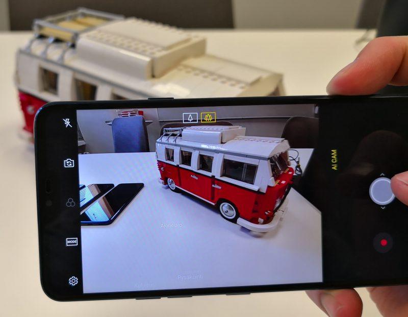 G7 ThinQ:n kamera osaa tunnistaa kuvauskohteita ja optimoida kuvausasetukset niiden mukaisesti.