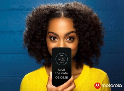 Motorolan kutsu tulevaan julkistustilaisuuteen.