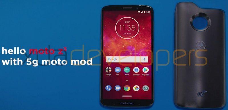 Moto Z3 Play on saamassa myös 5G-lisäkuoren.