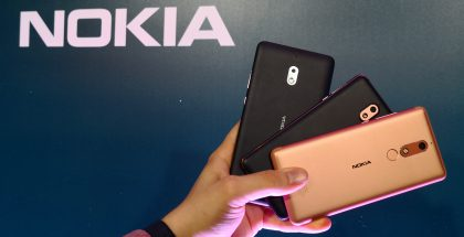 HMD Global julkisti Moskovassa kolme uutta edullisemman hintaluokan älypuhelinta.