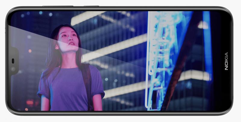 Nokia X6 on ensimmäinen Nokia-älypuhelin lovinäytöllä.