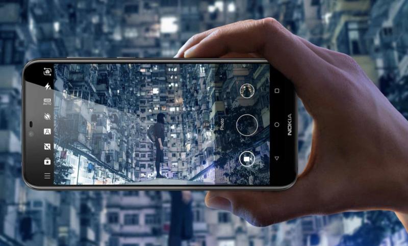 Nokia X6 kamera.