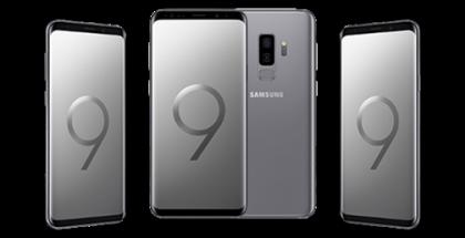 Samsung Galaxy S9+:n uusi Titanium Gray -värivaihtoehto.