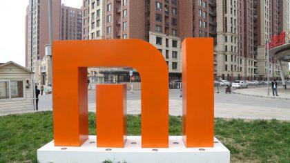Xiaomi logo.