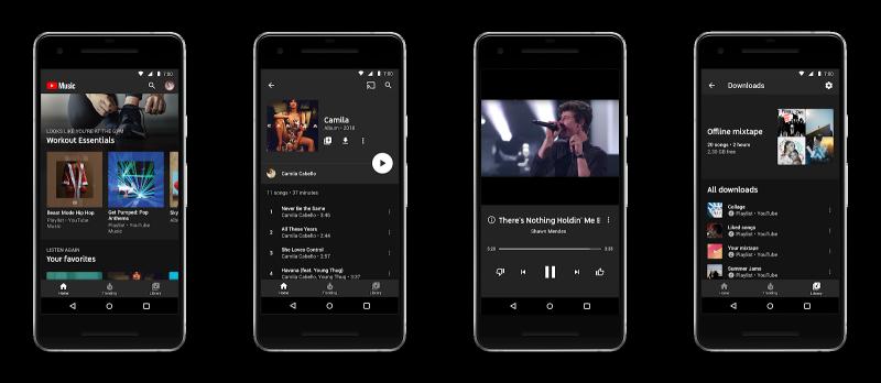 YouTube Music on uusi musiikkipalvelu YouTubelta.