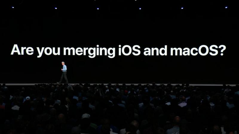 Apple tyrmäsi jälleen ajatuksen iOS:n ja macOS:n yhdistämisestä.