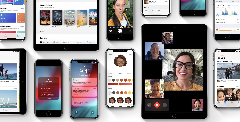 iOS 12 tuo monia uudistuksia.