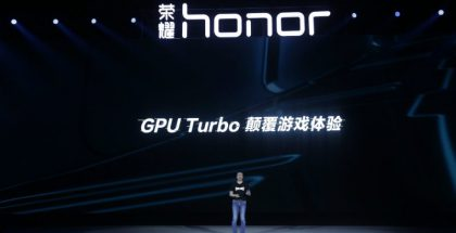 Honor GPU Turbo.