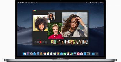 macOS Mojave tuo tuen muun muassa FaceTime-ryhmävideopuheluille.