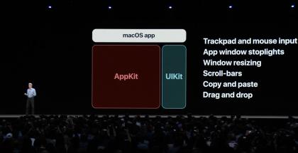 macOS saa muokatun UIKitin.
