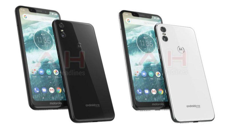 Motorola One tuoreessa AndroidHeadlines-sivuston julkaisemassa kuvassa.