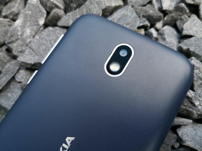 Nokia 1 takakamera.