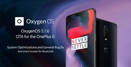 OnePlus 6 OxygenOS 5.1.6.