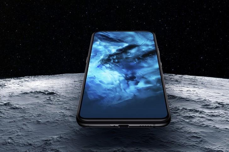Näyttö kattaa etupuolen NEX-puhelimissa laajasti.