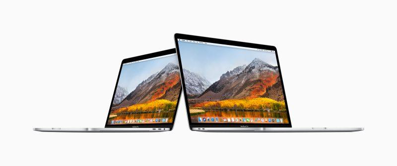 Applen uudet 13 ja 15 tuuman MacBook Pro -huippumallit Touch Barilla.