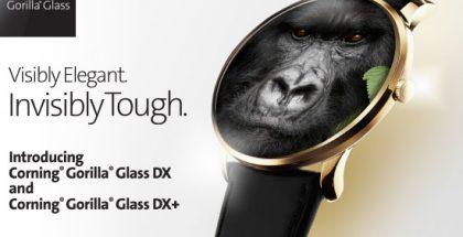 Corning Gorilla Glass DX ja DX+.