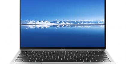 MateBook X Pron design muistuttaa alkuperäistä MateBook X:ää, mutta näytönreunukset ovat kaventuneet.