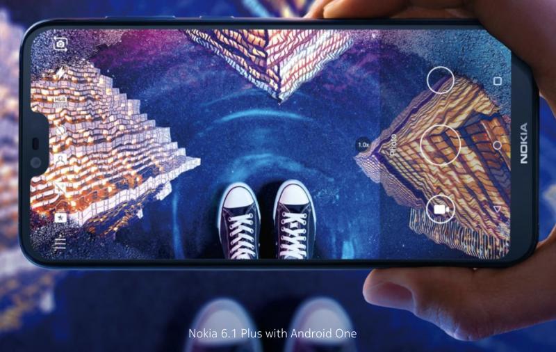 Nokia 6.1 Plus on jo julkistettu Hong Kongissa.