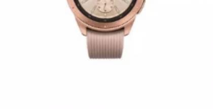 Galaxy Watch paljastui Samsungin sivuilta.