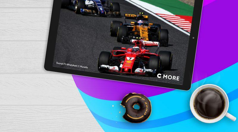 Muun muassa Formula 1 -sisällöt ovat C Moren kautta siirtymässä Telian talliin.