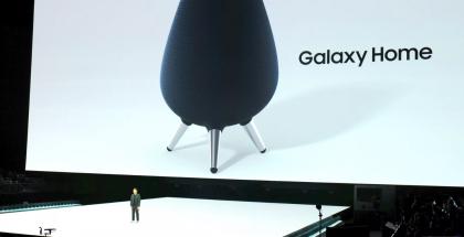 Samsung esitteli Galaxy Home -älykaiuttimen elokuussa 2018.