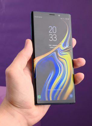 Galaxy Note9:n tekniikka on jo pitkälti entuudestaan tuttua.