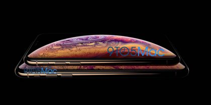 Uudet iPhone Xs -puhelimet kultavärivaihtoehtona 9to5Mac-sivuston julkaisemassa vuotokuvassa.